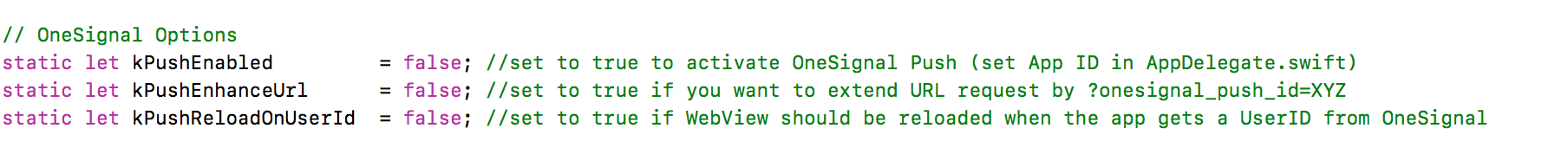 How to: OneSignal push notifications with URL deeplinking in iOS